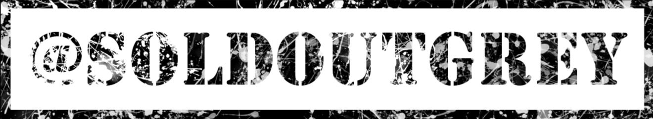 Soldoutgrey | Tobias Rauh Logo